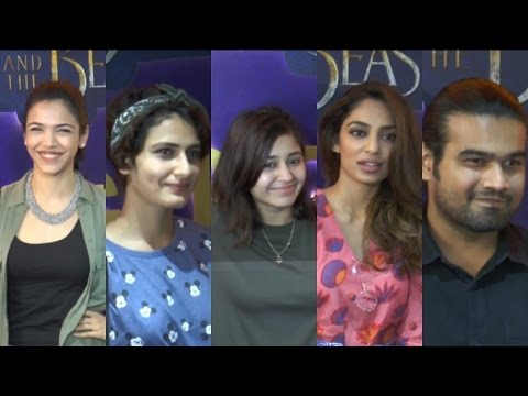 Fatima Sana Shaikh & Sanya Malhotra Host Screening Of Beauty & The Beast - HD