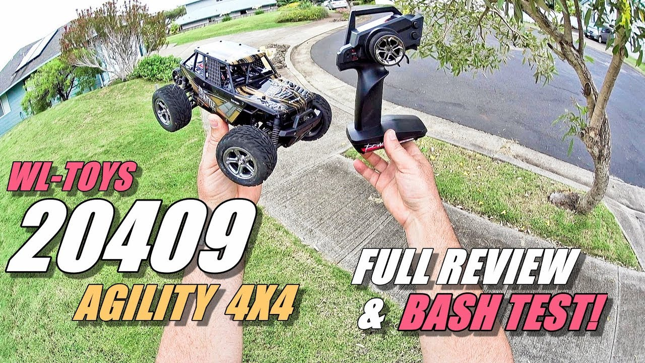 Wltoys 20409 Agility 4x4 1 20 Rc Truck Review Unbox Inspection Wltoy Pcb Box 24g Receiver Main Board Circuit Spare Parts For Drive Crash Test