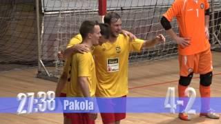 Sievi Futsal - Zelezarec 3.10.2015 (Uefa Futsal Cup)
