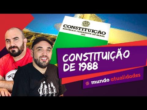 📗 Constituição de 1988 - Mundo Atualidades - ENEM