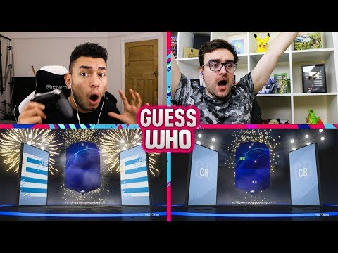 INSANE CHAMPIONS LEAGUE PACK LUCK 🔥 GUESS WHO FIFA vs AJ3 (GUESS WHO PACKS)