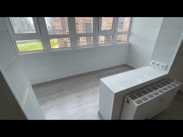 Смотреть видео Спальня на балконе @ Верхнекаменская 5