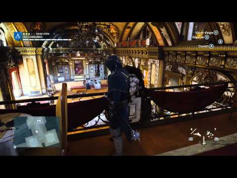 Assassin's Creed Unity visite palais du Luxembourg