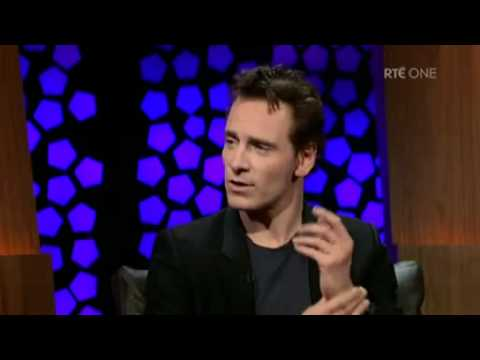 Michael Fassbender on The Late Late Show [Part 1]