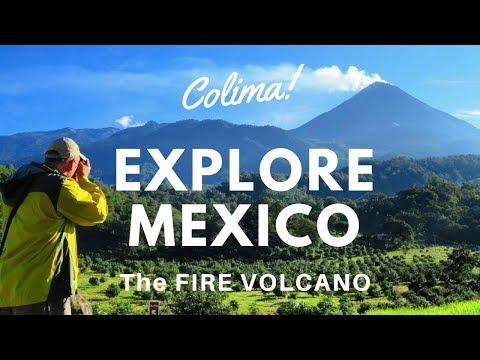 Colima Mexico Travel - The Fire Volcano