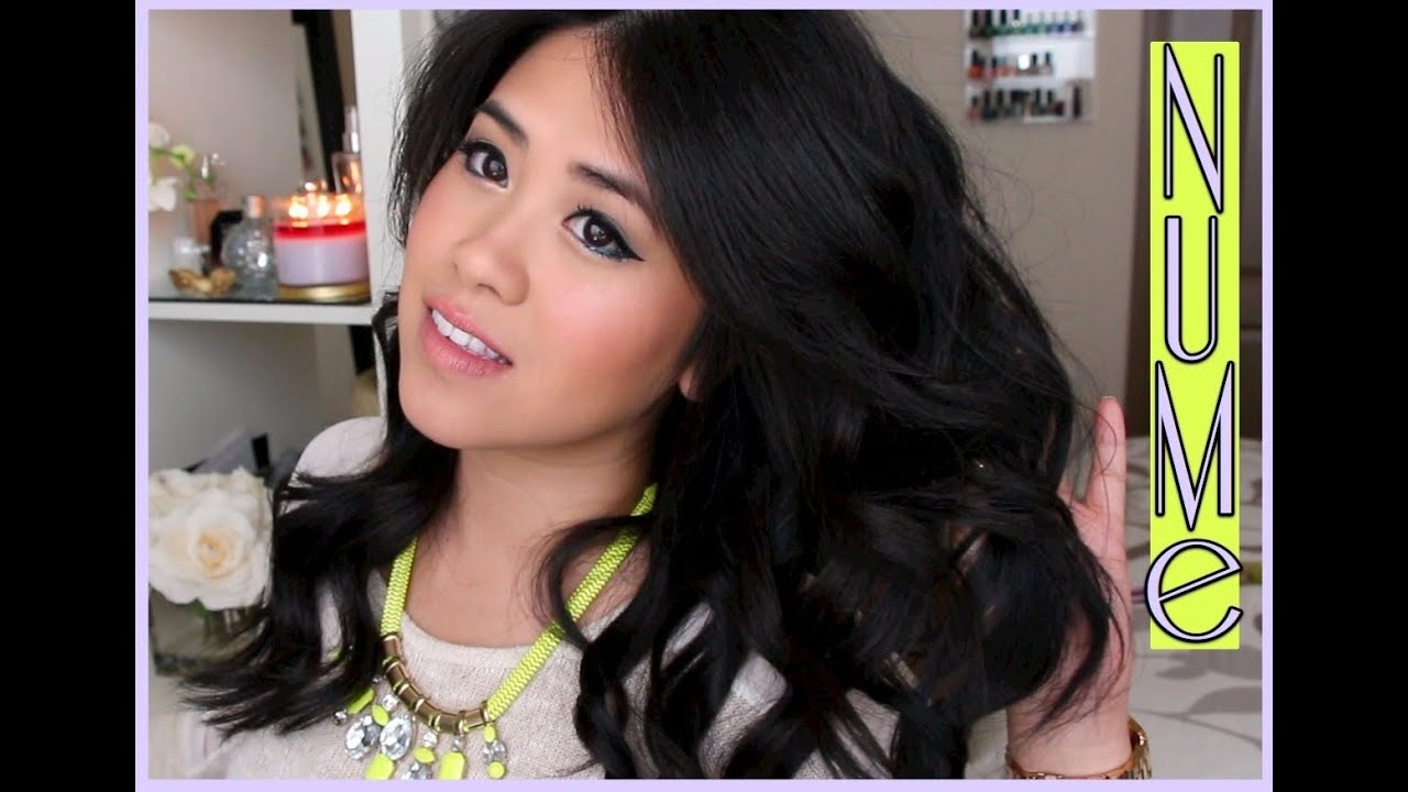 """NuMe 25mm Review/Tutorial: """"Curling Wand vs. Traditional ..."""