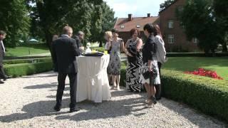 свадьба в замке MIERZECIN (Польша) 11 августа 2012 года