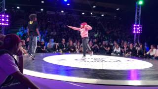 Nothing2Looz Kids Battle Final 2017 Bgirl Terra vs Demani