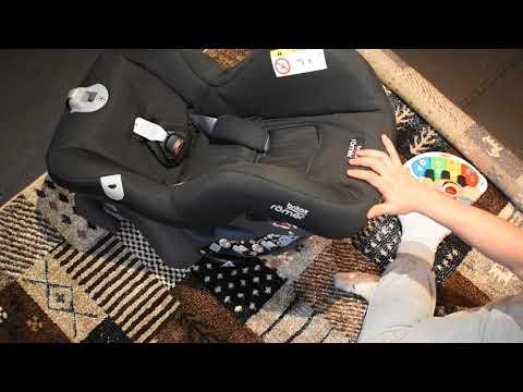 Britax Römer FIRST CLASS PLUS Group 0+/1 (Birth-18kg) Car Seat - Cosmos Black