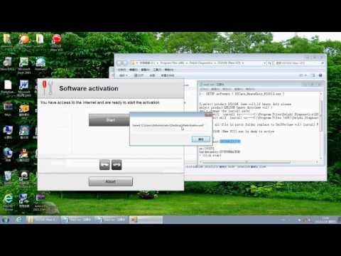 how to install delphi ds150 software version 2013.3