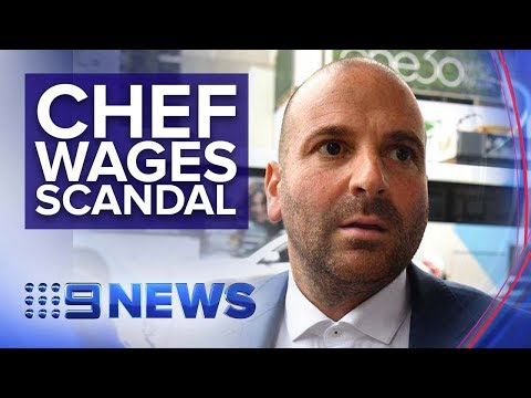 Masterchef's George Calombaris Fined For Underpaying Staff $7.8M | Nine News Australia
