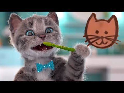 Little Kitten My Favorite Cat Care - Little Kitten Preschool - Play Pet School Learn Education Games