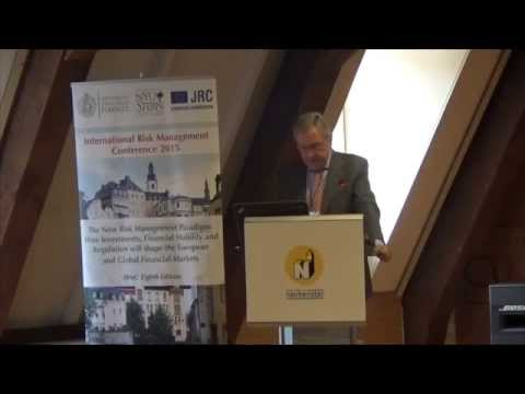 IRMC 2015 Klaus Regling - ESM - Credit Excesses Bubbles and the New European Financial Architecture