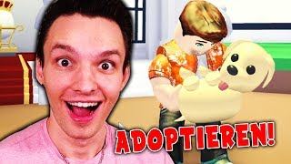 I HAVE ADOPTED A DOG !! (Roblox)