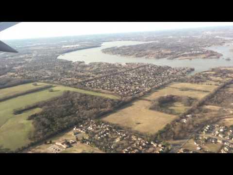 Flying into BNA, Nashville Airport, Nashville, TN