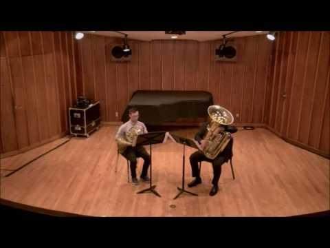 Frackenpohl: Three Dances for Horn and Tuba - I. Rag