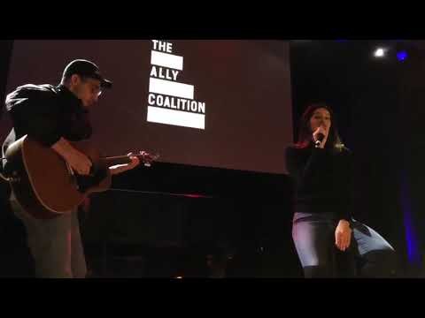 Lana Del Rey performing Hey Blue Baby with Jack Antonoff at Ally Coalition Mp3