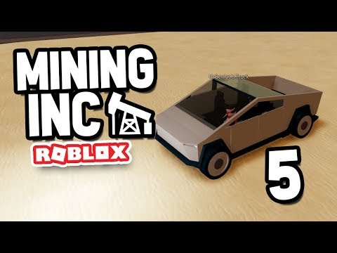 FULLY UPGRADED TESLA CYBERTRUCK - Roblox Mining Inc Remastered #5