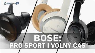 Vybíráme bezdrátová sluchátka: BOSE: Pro sport i volný čas! (SROVNÁVACÍ RECENZE #771)