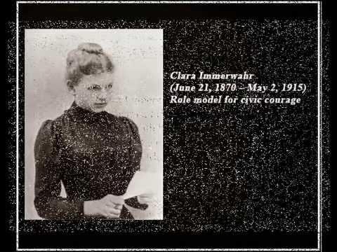 Clara Immerwahr Abschiedsbrief