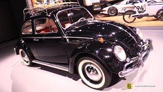 1964 Volkswagen Beetle - Exterior and Interior Walkaround - 2018 LA Auto Show