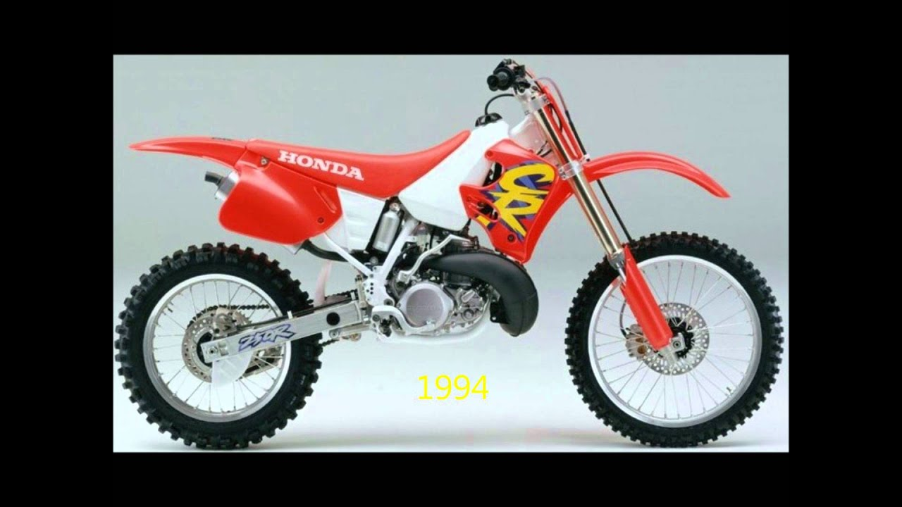 honda cr250 evolution 1973 2007 youtube. Black Bedroom Furniture Sets. Home Design Ideas