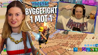 TIDENES mest INTENSE BYGGE FIGHT i FORTNITE ⚒️ *SARA MOT EN BYGGER for VICTORY ROYALE*