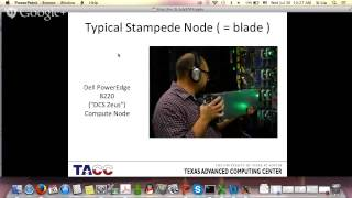 Parallel Computing on Stampede - Day 1 - Morning