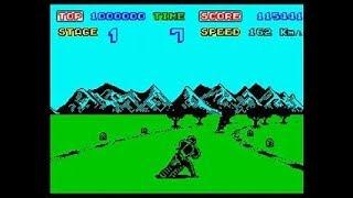 Enduro Racer Comparison - ZX Spectrum - Commodore 64 - Amstrad CPC 464