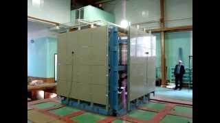 Испытания на сейсмостойкость, стеновые панели(Стендовые испытания на сейсмостойкость по шкале сейсмической интенсивности MSK-64, стеновые панели., 2013-07-16T09:34:46.000Z)
