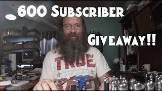 600 Subscriber Giveaway (Ended) | Thank you!