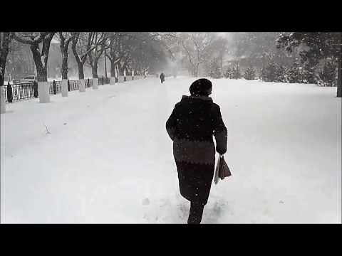 КАРАГАНДА: снегопад, снегопад, не мети..! Надоело это!