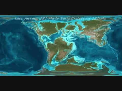 Miocene World Map.Earth S Paleogeography Continental Movements Through Time Youtube