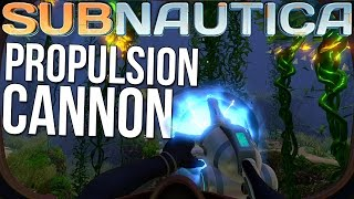 Subnautica Gameplay - Propulsion Cannon, Workbench & Equipment Customization