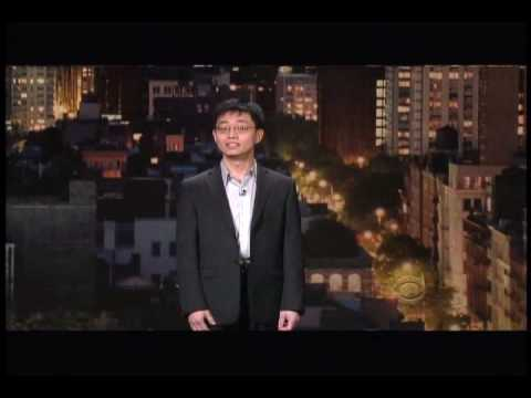 Joe Wong- Letterman 2-12-10