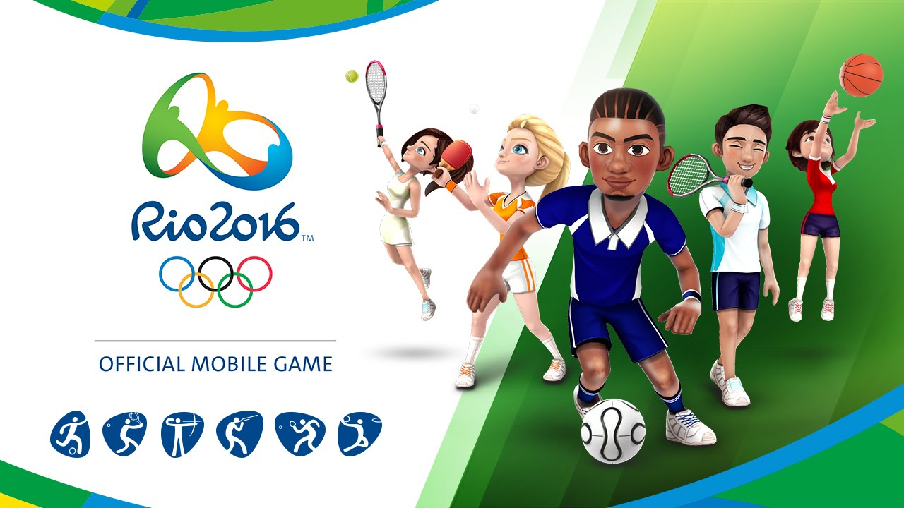 Rio Olympic Rio 2016 Olympic Games Official Mobile Game Trailer A 60s Ver