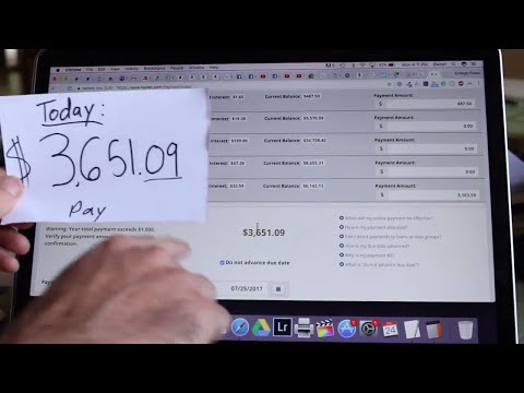 IN THE 50 THOUSANDS! WOOT! | Student Loan Journey $3652 in Overpayment Video #3