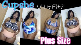 Cupshe Plus Size Swimsuit Try On Haul | Will It Fit?!