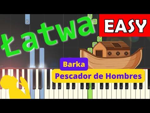 🎹 Barka - Piano Tutorial (łatwa wersja) 🎹