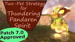 Thundering Pandaren Spirit in Patch 70 WoW Pet Battle Guide