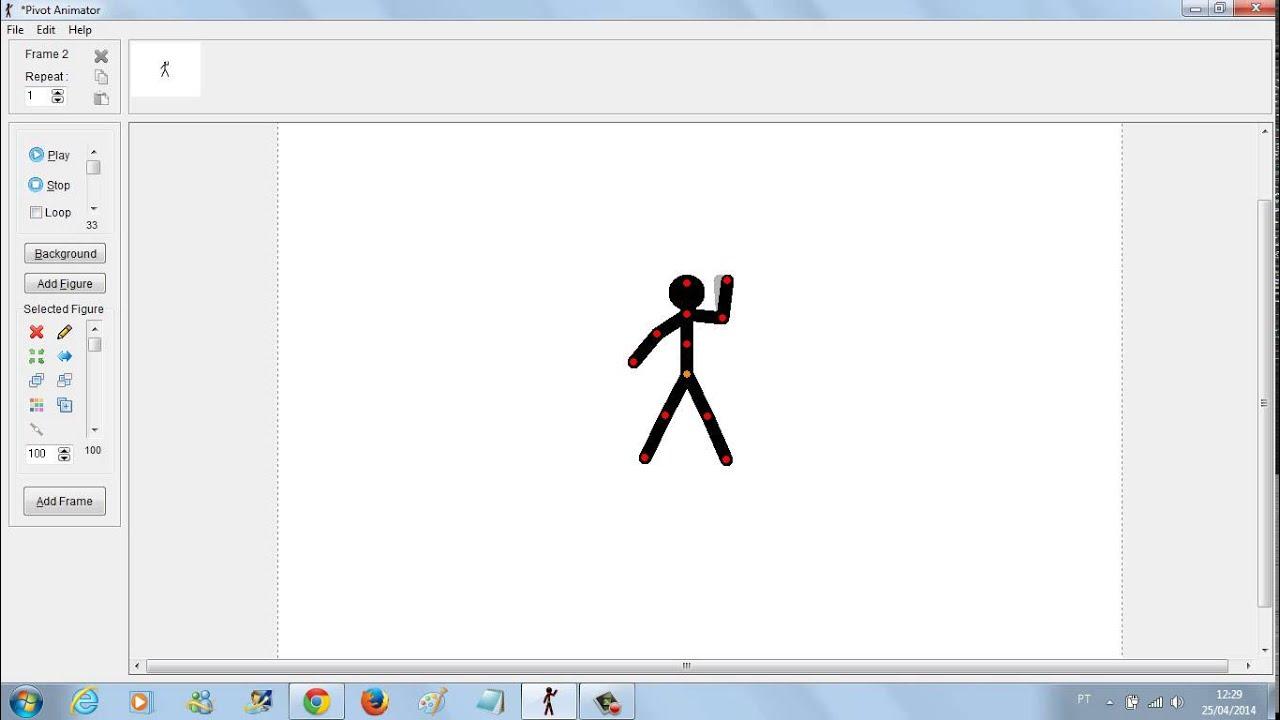 Como usar o background image - Como Usar O Pivot Animator