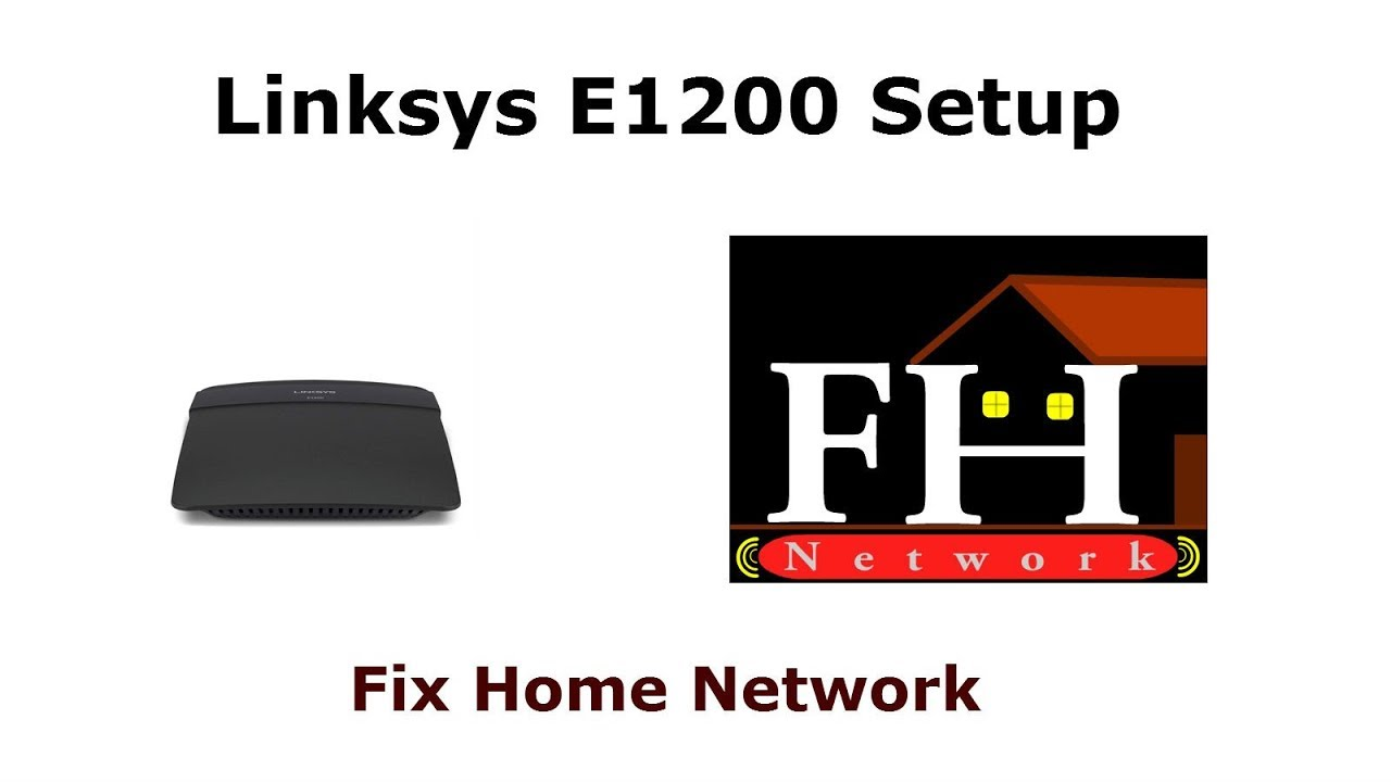 Linksys E1200 setup manual and troubleshooting - Watch Video