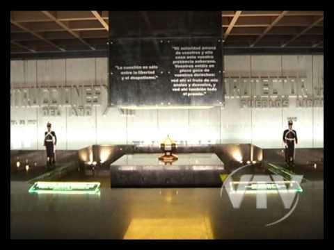 Vtv Noticias Mausoleo Con Frases De Artigas