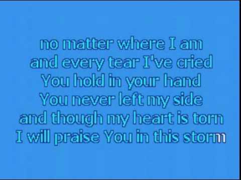 Praise You In This Storm Karaoke