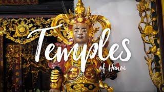 TEMPLES OF HANOI VIETNAM