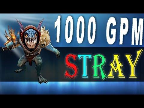 видео: dota 2 - stray228 играет на герое slark (1000gpm) [802 mmr 20.04.2016 mid vs spectre]