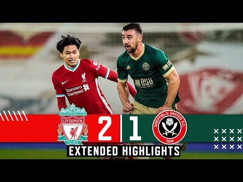 Liverpool 2-1 Sheffield United | Extended Premier League highlights