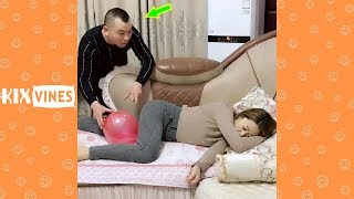 Funny videos 2019 ✦ Funny pranks try not to laugh challenge P100