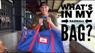 WHAT'S IN MY BASEBALL BAG- MILB