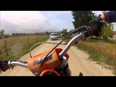 Ktm Riding Fight In The Woods